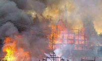 Hunan Village Fire Destroys 59 Homes, Hundreds Homeless