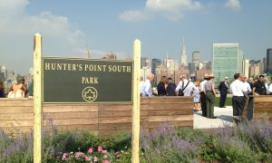 Industrial Wasteland Transformed Into Lush Park in Queens