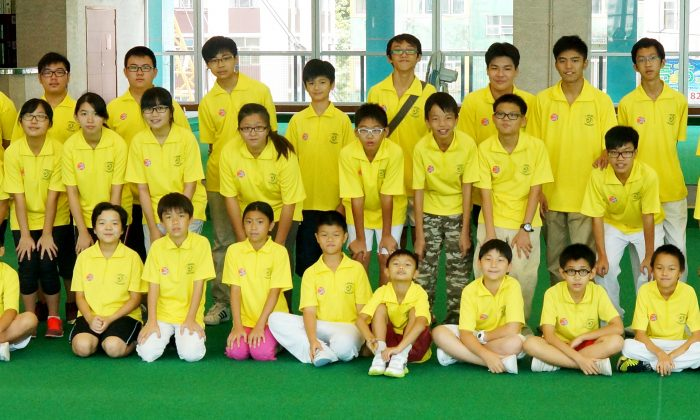 The future of lawn bowls in Hong Kong ... More than 40 young bowlers completed the Young Athletes Lawn Bowls Training Scheme on Sunday, Aug 25, 2013. Although it is unknown how many will continue with the sport, their commitment during the course has been impressive. (Mike Worth)