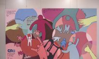 Family Court Unveils Mural Made by Kids