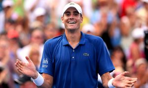 John Isner Past Juan Del Potro, On to Cincinnati Finals
