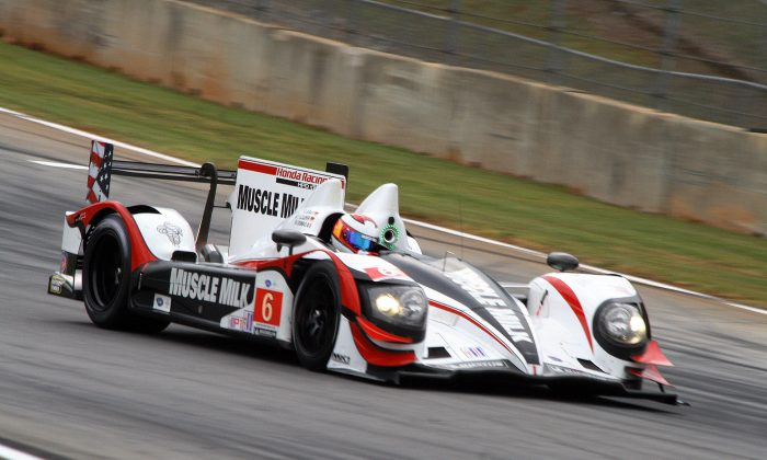 Muscle Milk captured the pole for the ALMS Orion Energy Systems 245 at Road America. (Chris Jasurek)