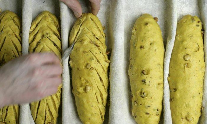 A pain au curcuma at Maison Kayser.(Courtesy of Maison Kayser)