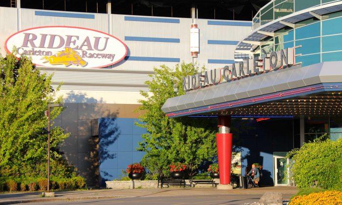 Rideau Carleton Raceway Ottawa site of OLG slot machines. (Pam McLennan/Epoch Times)