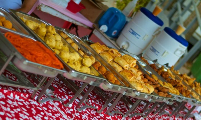 A flavourful assortment of tasty foods lined up waiting to be indulged in. (DQC Photo)