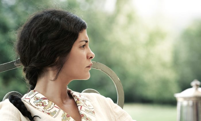 """Audrey Tautou as Thérèse in the dramatic film set in 1920's provincial France """"Thérèse."""" (Courtesy of MPI media group)"""