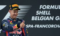 Vettel Again—Three-Time Champion Wins Easily at F1 Belgian Grand Prix