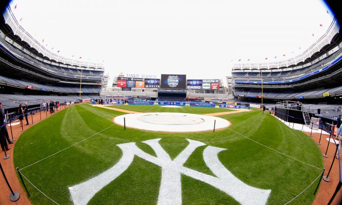 A general view of Yankee Stadium during the 2014 NHL Stadium Series Media Availabilty at Yankee Stadium on August 8, 2013 in the Bronx borough of New York City. (Andy Marlin/Getty Images)
