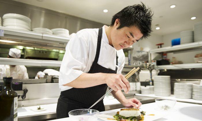 Chef Yuhi Fujinaga. (Evan Sung)