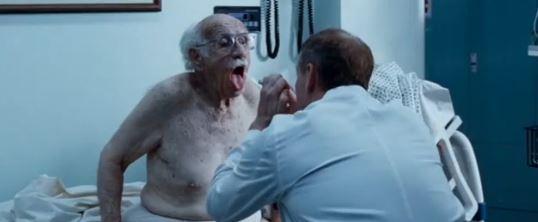"Actor Murray Gershenz in ""The Hangover."" (Screenshot/YouTube)"