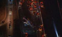 Pomona: Crash on Highway in Los Angeles County Kills 1, Injures 10