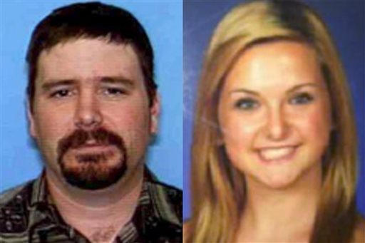 This combination of undated photos provided by the San Diego Sheriff's Department shows James Lee DiMaggio, 40, left, and Hannah Anderson, 16. DiMaggio was killed by a federal official after allegedly kidnapping Anderson and murdering her mother and brother; now, DiMaggio's family wants a DNA test to see if Hannah and her brother are his children. (AP Photo/San Diego Sheriff's Department )