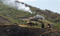 Utah: Summit County Fire Burns Homes Near Coalville and Wanship