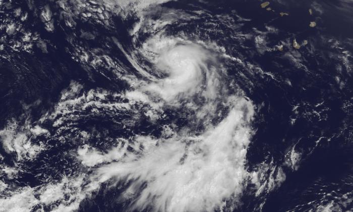 Tropical Storm Dorian. (NOAA)
