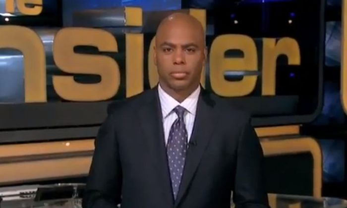 A screenshot of YouTube shows Kevin Frazier.