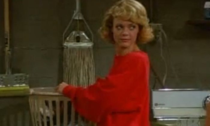 """A screenshot shows Lisa Robin Kelly in """"That 70's Show."""" (YouTube)"""