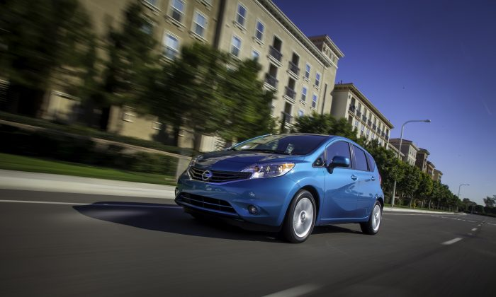 2014 Nissan Versa Note (Courtesy of Nissan Canada)