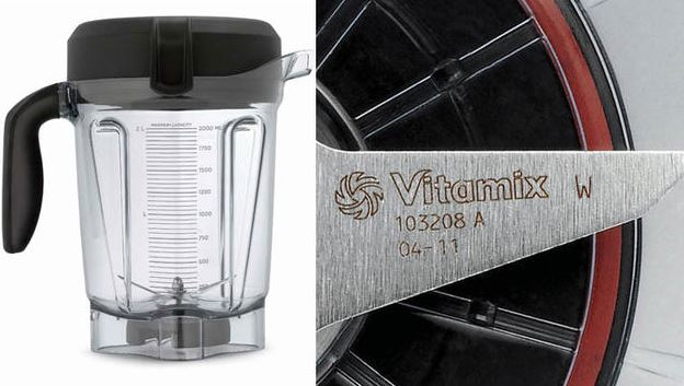 """Vitamix has issued a voluntary safety recall for the """"64-ounce Low-Profile"""" container that has been sold with three of its blender models: the Vitamix 7500™, Professional Series™ 750®, and Professional Series™ 300®. (Vitamix)"""
