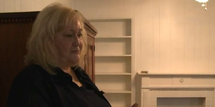 Nikki Bailey, whose home was wrongly repossessed. (Screenshot/WSAZ)