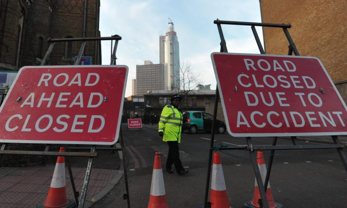 UK charity RoadPeace says victims of road crashes are not getting the support they deserve in comparison to victims of other crimes. (Carl Court/AFP/Getty Images)