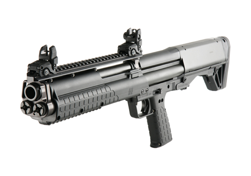 The KSG from Kel-Tec, the shotgun that George Zimmerman was looking at during a shopping trip on August 22. (Kel-Tec)