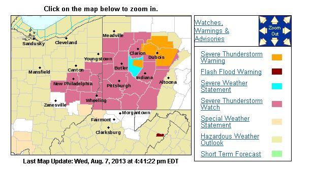 (Screenshot/National Weather Service)