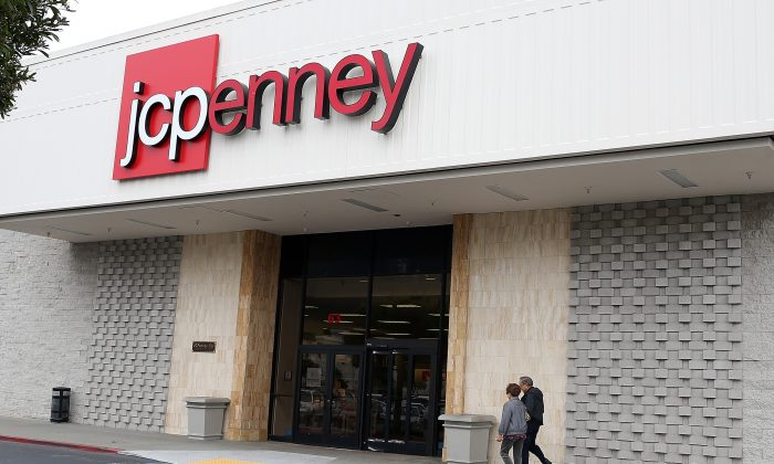 Customers walk into a JCPenney store in Daly City, Calif. on Feb. 28, 2013. (Justin Sullivan/Getty Images)