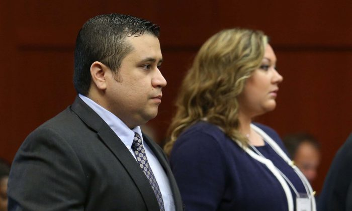 George Zimmerman and Shellie Zimmerman in court on June 24, 2013 in Sanford, Florida. (Joe Burbank-Pool/Getty Images)