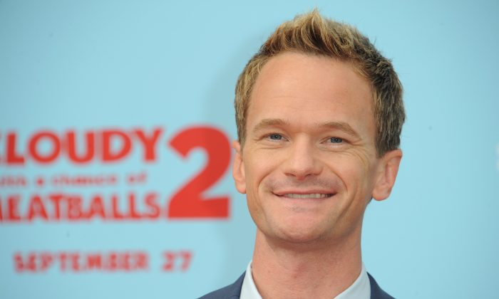 Actor Neil Patrick Harris arrives at the premiere of 'Cloudy With A Chance Of Meatballs 2'' in Los Angeles on September 21, 2013. AFP PHOTO / Robyn Beck (Photo credit should read ROBYN BECK/AFP/Getty Images)
