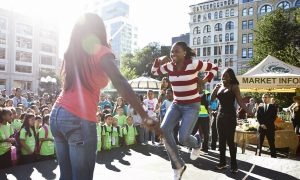 Child Actors Double Dutch for Nickelodeon Day of Play