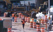 Work Starts on Amtrak Tunnel Section Under Hudson Yards