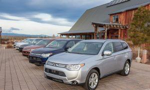 2014 Mitsubishi Outlander: Sale the Seven Seats
