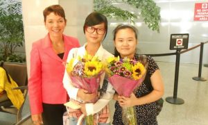 Daughter of Chinese Activist Arrives in US to Begin New Life