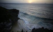 Sunset in Japan's Okinawa