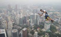 Malaysian Base jumper