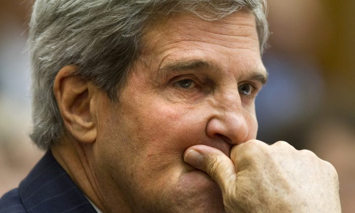 A file photo of Secretary of State John Kerry. (AP Photo/Jacquelyn Martin)