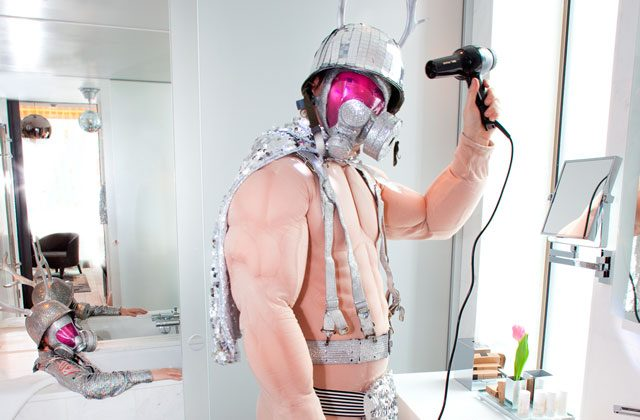 There's even a disco-ball in the bathroom (Photo: TheThief.com & Evy Andersen)