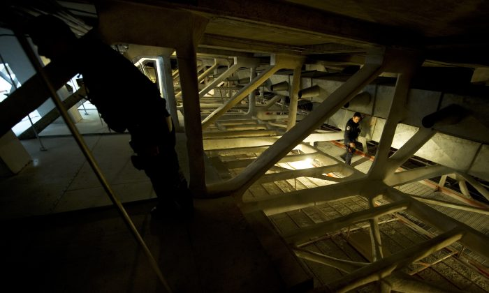 A file photo of the attic above the House chamber on Capitol Hill in Washington, D.C. Rummaging through attics can uncover the usual family memorabilia, or some more bizarre items as the August 2013 discovery of a mummy in a German attic shows. (Jim Watson/AFP/Getty Images)