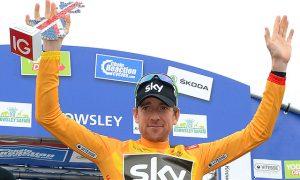 Bradley Wiggins Wins Time Trial, Race Lead in Tour of Britain