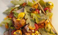Make Mealtime a Breeze with Salad and Kebabs