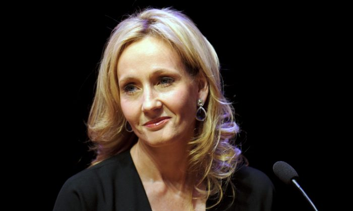 A file photo of author J.K. Rowling. (Ben Pruchnie/Getty Images)