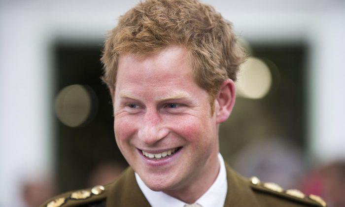 A file photo of Britain's Prince Harry. (Adam Gerrard/AFP/Getty Images)