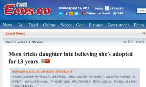 Chinese Mother for Years Told Daughter She Was Adopted, to Teach Her Independence
