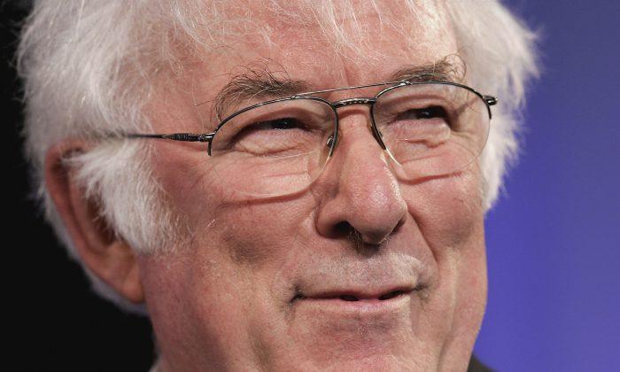 Irish poet Seamus Heaney, May 29, 2006. (Chris Jackson/Getty Images)