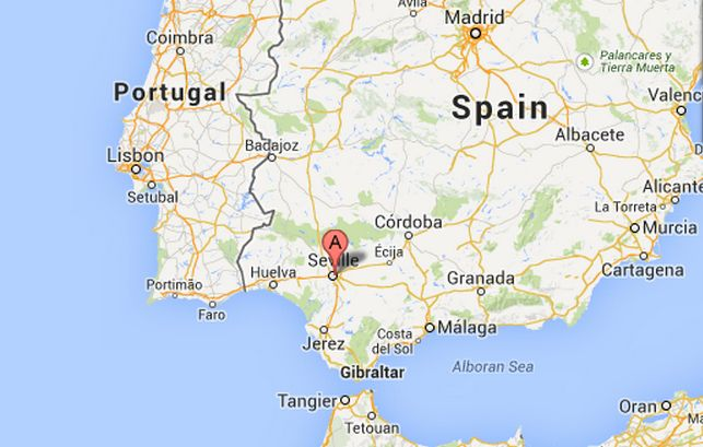 Map Of Spain Google Maps.Robin Hood Mass Robbery In Spain Right Or Wrong Video