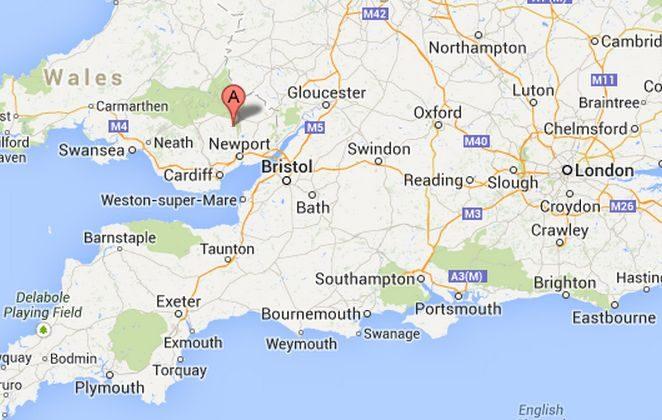 Varteg, Wales, could soon become Y Farteg. (Google Maps)