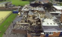 Fire Burns Much of St Mary's Catholic School in Leyland, Lancashire (+Photos and Videos)