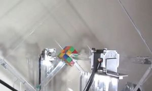 Rubik's Cube Solved by Robot in 'Under 1 Second' (Video)