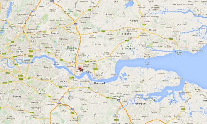 A Google Maps screenshot shows the location of the plant in West Thurrock, U.K.