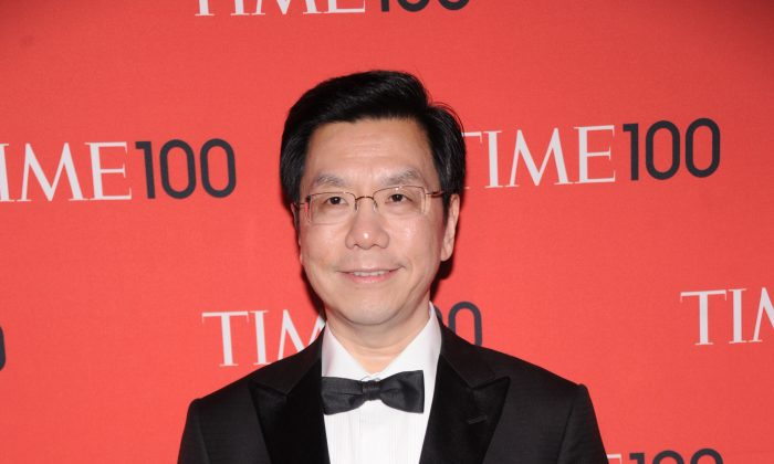Venture capitalist Lee Kai-fu attends the 2013 Time 100 Gala at Frederick P. Rose Hall, Jazz at Lincoln Center on April 23, 2013 in New York City. Lee has recently come under attack by Chinese state media, for his outspoken views. (Jamie McCarthy/Getty Images)